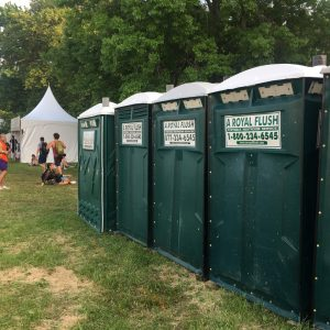 Portable Toilets Festival